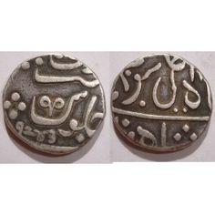 East India Company - Bombay Presidency - Silver 1 Rupee Coin - Muhiabad Poona Mint