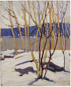 Seeking superior fine art prints of Sketch for Evening, Early Spring, 1916 by Tom Thomson? Canadian Painters, Canadian Artists, Painting Inspiration, Art Inspo, Tom Thomson Paintings, Oil Painting Gallery, Political Art, Winter Art, Catalogue