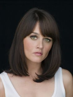 Robin Tunney - hair color and bangs
