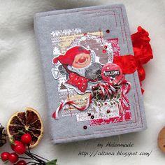 Simple things: Зимний новогодний блокнот