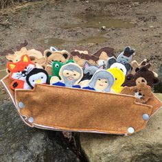 Noah's Ark Finger Puppet Play Set