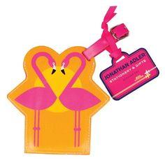 #JonathanAdler Flamingo #LuggageTag  Price : $9.99 http://www.whimsicalumbrella.com/Jonathan-Adler-Flamingo-Luggage-Tag/dp/B00IO7KCX6 #whimsicalumbrella