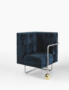 Fauteuil « Fur play » Walckhoff Sacha - Private Choice / Appartement-galerie FIAC oct 2014