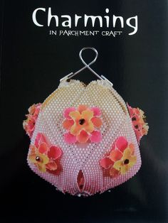 CHARMING BY AMANDA, CHING-HSIANG YEH - Charming is Amanda Yeh's third book. There are projects for 5 decorative and intricate 3D bags, 3 beautiful ball patterns, 6 different lanterns and 2 fans. The projects all have fully illustrated step by step photos and detailed patterns and grids with full explanations. 61 pages, English.