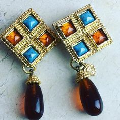 More Edouard Rambaud French designer earrings