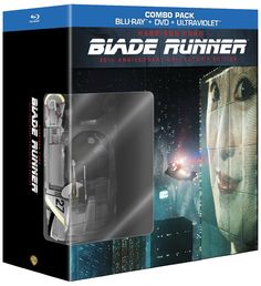 picture of the Blade Runner: 30th Anniversary 4-Disc Collector's Edition Blu-ray & DVD Set  -Includes limited edition model spinner car