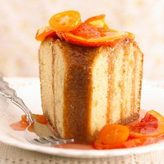 Pound cakes were so named because the original recipes contained a pound each of butter, sugar, eggs, and flour. At Mount Vernon and in Williamsburg, Virginia, pound cakes were studded with currants or fruit; elsewhere in Vir/