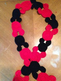 Mickey Mouse Inspires Scarf