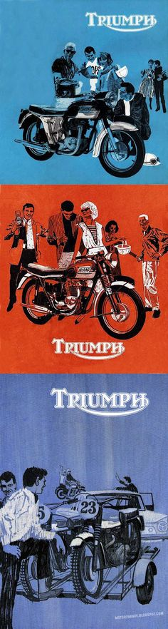 MotorParade: TRIUMPH ART