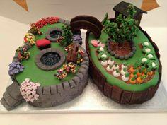 super kreative torte bestellen schöne torten to+ 70th Birthday Cake For Men, Garden Birthday Cake, Beautiful Cakes, Amazing Cakes, Allotment Cake, Pie Decoration, Dad Cake, Garden Cakes, Crazy Cakes