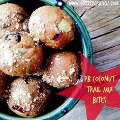 PB Coconut Trail Mix Healthy Bites Recipe