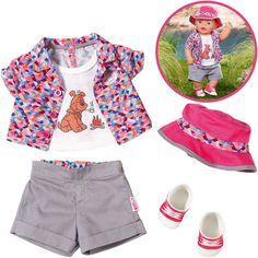 Zapf Creation Baby Born Play&Fun Deluxe Camping Outfit in Spielzeug, Puppen & Zubehör, Babypuppen & Zubehör   eBay!