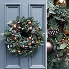 Our stunning Fresh Festive Wreath is now in stock! Each wreath is beautifully handmade to order by artisan florists Flowers By Passion. We were lucky enough to take a sneak peek behind the scenes at the first festive wreath being made.