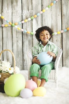 Great Easter Mini Session idea..studio