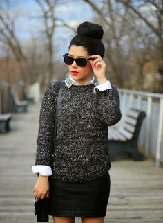 A Love Affair With Fashion : Mixing Textures
