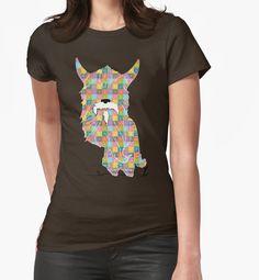 Emoji Emoticon Pattern Illustration by Gordon White | Womens Brown Emoji Fitted Tshirt Available in All Sizes @redbubble --------------------------- #redbubble #emoji #emoticon #smiley #faces #cute #adorable #pattern #women #tshirt #shirt #tee #clothing