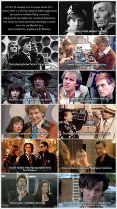 Doctor Who: A brief introduction.