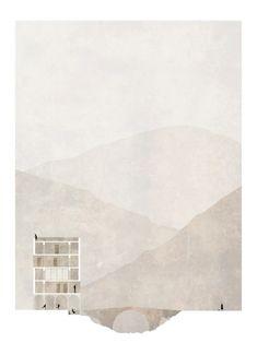 Corsica Triptych Section - Pauline Tondreau - Master 2 UCL LOCI TOURNAI