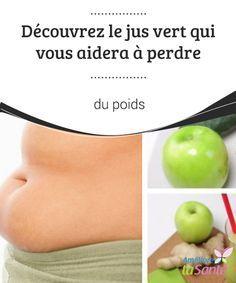 Découvrez le jus vert qui vous aidera à #perdre du poids   Nous allons partager avec vous la #recette d'un jus à base de #pomme, de concombre et de #gingembre, qui permet de brûler les #kilos en trop.