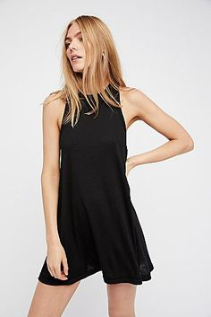 Mock Me Mini Dress