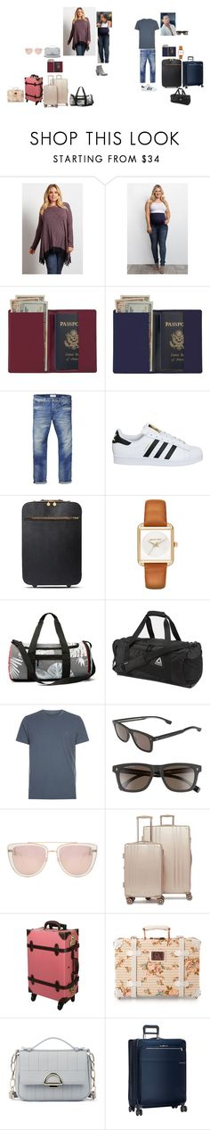 """Off to Spain (READ)"" by tinkerprincess26 on Polyvore featuring Royce Leather, Scotch & Soda, adidas, STELLA McCARTNEY, MICHAEL Michael Kors, Reebok, AllSaints, BOSS Hugo Boss, Quay and CalPak"