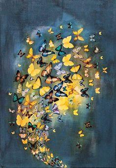 Pinzellades al món: Voloteig de papallones / Revoloteo de mariposas / Fluttering butterflies