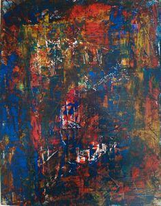 Peinture abstractive inventorielle . 170428