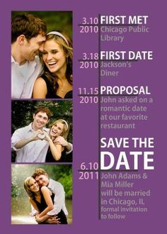 Great idea for a Save The Date