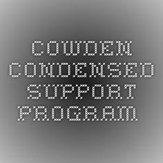 Cowden Condensed Support Program