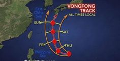 The most powerful typhoon hit Japan in 2014