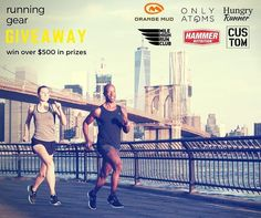 1 more day to enter our giveaway!! Enter to win running gear & prizes from @OnlyAtomsNYC @HungryRunner @theOrangeMud @HammerNutrition @MileHighRunClub @NYCustompt. Entr at link in profile.  ..........................    #OnlyAtoms #runninggear #MadeinNYC #hungryrunner #orangemud #howihammer #milehighrunclub #nycustompt #empoweredbyrunning #WeRunNYC #tcsnycmarathon #nycmarathon #runNYC #marathontraining #marathonrunner #firstmarathon #marathonfinisher #runBrooklyn #runningclub…