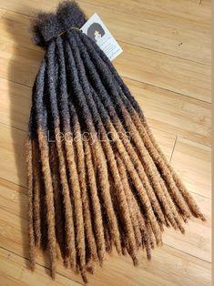 HoneyTips Dreadlock Extensions Handmade 100% Human Hair | Etsy