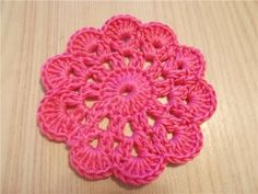 Вязание ЦВЕТКА крючком.Урок ирландского кружева.Lesson Irish lace knitting. - YouTube