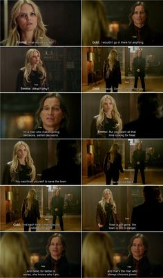 """""""What would you do?"""" Emma, """"I'd not go in there for anything."""" - 4 * 8 """"Smash the Mirror."""""""