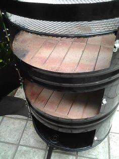 Barrel Stove, Barrel Grill, Garage Furniture, Barrel Furniture, Diy Grill, Barbecue Grill, Bucket Bbq, Kids Table Chair Set, Smokehouse Bbq