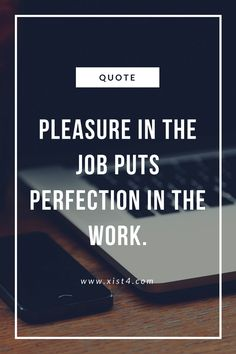 The perfect quote for jobs!