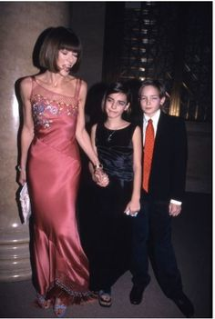 Anna Wintour and kids