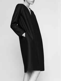 NON dress 100% finest merino wool fabric model Malwina Garstka Modelplus Photographed by Kasia Bielska thisisnon.com
