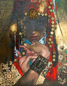 Живопись Нурлана Килибаева: Персональный блог казахстанского художника Нурлана...
