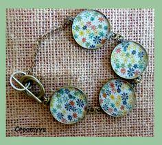 Bracelet rétro liberty rania multicolore : Bracelet par crocmyys