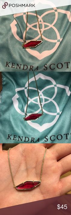 Kendra Scott necklace! Posted in my closet is the matching set of earrings for this necklace! It has been worn maybe a handful of times! Absolutely beautiful! Kendra Scott Jewelry Necklaces