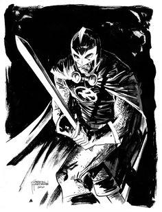 Black Knight by Gabriel Hardman