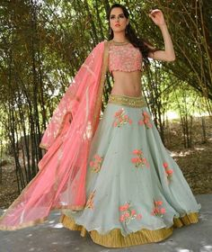 Love Light & Pastel Colours ?? Mirraw presents a wide range of Lehenga Collection  with $5 stitching Just for YOU! Price- USD 30   Product id- 1846735 Click on the link in bio to shop directly !! Worldwide Delivery 7 day return Policy Visit m.mirraw.com/insta  Follow us on @mirraw  DM or Whatsapp on 91 8291100288 #lehengas #lehengaonline #bestqualitylehengas #lowestprice #ghagra #choli #ethnic #indianfabric #designerwear #tailormade #royalty #weddings #traditionalwear #attractive…