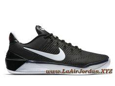 sports shoes f0dea 9acc7 Nike Kobe A.D Black White 852425 001 Chaussures Officiel Prix Pour Homme  Noir Nike Basketball, Baskets