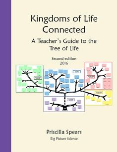 Kingdoms of life connected tree of life charts 2008 version diversity of life for elementary and middle school levels bacteria archaea viruses fandeluxe Images