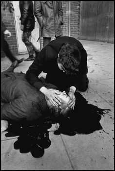 Gilles Peress. Barney McGuigan,Bloody Sunday 1972, Magnum Photos