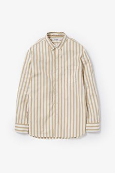 DWELLER B.D SHIRT OXFORD STRIPE | SHIRTS | COVERCHORD