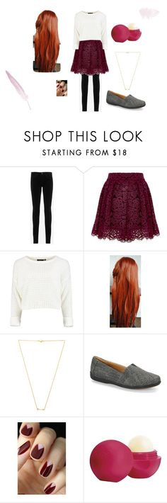 """""""Olivia Goldsman"""" by lilyvirginiakrause on Polyvore featuring AG Adriano Goldschmied, Alice + Olivia, Wanderlust + Co, Softspots, Eos and savior"""