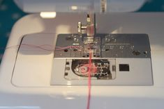 brides pour boutonnière à la machine à coudre