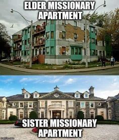 Since a picture is worth a thousands words, missionary memes do an incredible job of encapsulating the awesomeness that is missionary service. Funny Church Memes, Funny Mormon Memes, Church Jokes, Lds Memes, My Church, Lds Quotes, Missionary Humor, Saints Memes, Sister Missionaries